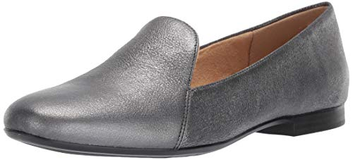 Naturalizer womens Emiline Driving Style Loafer, Pewter Sparkle, 9 Narrow US