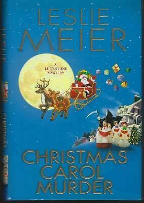 Christmas Carol Murder by Leslie Meier 2000 Lucy Stone Cozy Mystery #20 Holiday