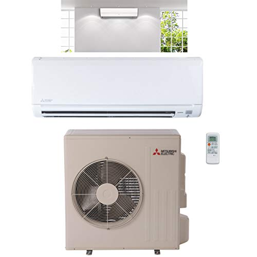 Mitsubishi 24,000 Btu 20.5 Seer Single Zone Ductless Mini Split Air Conditioning System (AC only)
