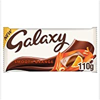 Galaxy Smooth Orange Chocolate Bar, 110 g