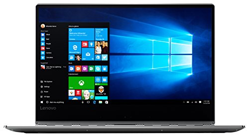 Lenovo YOGA 910 35,31cm (13,9 Zoll Full HD IPS) Slim Convertible Laptop (Intel Core i7-7500U, 16GB RAM, 512GB SSD, Intel HD Grafik 620, Windows 10 Home) silber