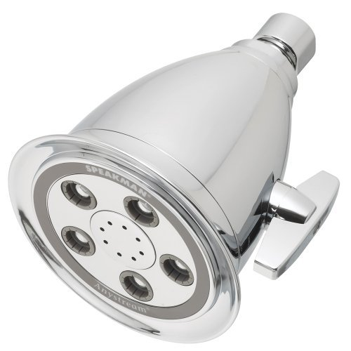 Speakman S-2005-HB-E2 Hotel Anystream High Pressure Adjustable Low Flow Shower Head, Polished Chrome Color: Polished Chrome Style: 2.0 GPM, Model: S-2005-HB-E2, Outdoor & Hardware Store