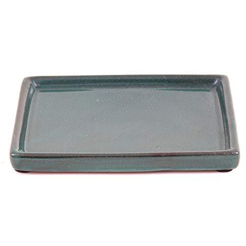 Bonsai - Untersetzer eckig 15,5 x 11,5 cm, grün 53361
