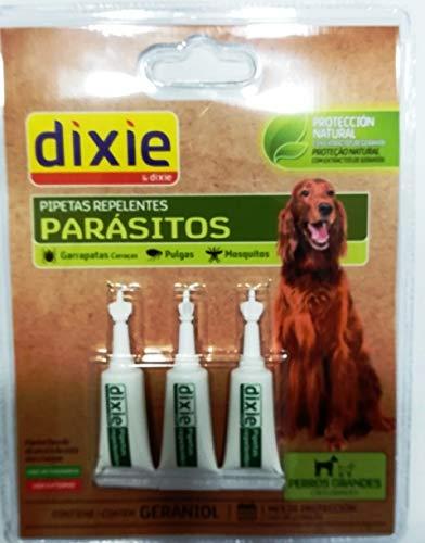 TODOPETS Dixie PIPETAS INSETIFUGAS Perro Grande 3X2ML