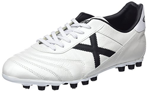 Munich Mundial U25, Botas de fútbol Unisex Adulto, Blanco (White 316), 44 EU