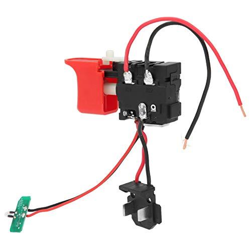 Interruptor de gatillo de taladro, plástico + aluminio Herramienta de interruptor de gatillo de taladro, amplia aplicación, confiable, fácil instalación portátil para herramientas eléctricas