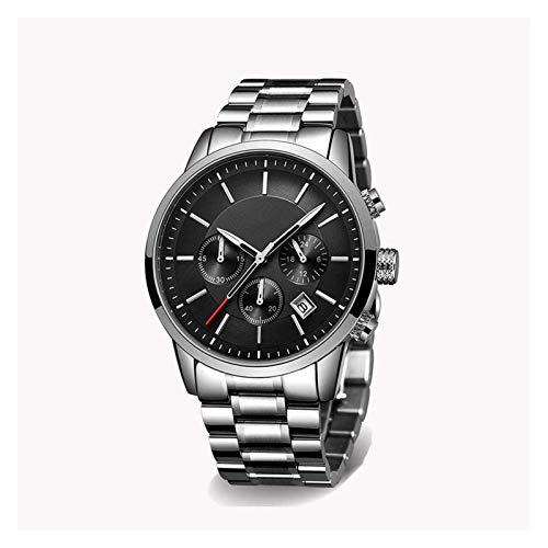 Fashion Quartz Watch, Business Military Waterproof Sports Strap, Stainless Steel Strap, mesh...