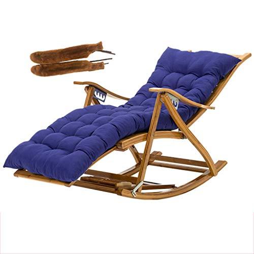 CVMFE Sillón reclinable Silla de jardín Tumbona Tumbona Plegable Ajustable extraíble con Toallita de algodón y Cubierta de los apoyabrazos de Pesca al Aire Libre