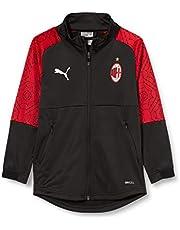 PUMA Ac Milan Temporada 20/21 Stadium Home Jr Chaqueta De Entrenamiento Unisex niños