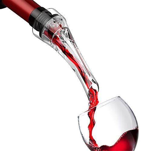 2 PCS Vino de plástico Aerator Voderer Accesorios de vino Pourer Tinto Vino Decantador Champagne Sput Best regalo para los amantes del vino
