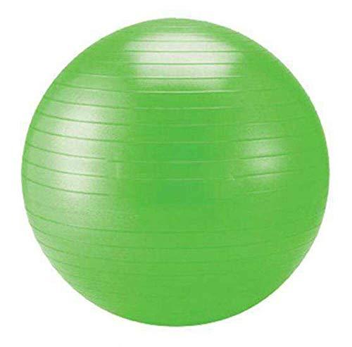 Schildkröt Fitness Gymnastikball, 55 cm, mit Ballpumpe, phthalatfrei, schwere Anti Burst Qualität bis 120kg, Grün, 960055