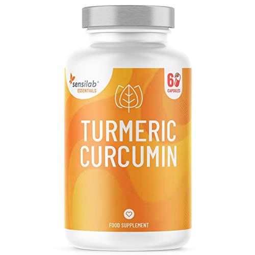Mizellen Kurkuma Kapseln 1000mg Hochdosiert mit Vitamin D3   185x höhere Bioverfügbarkeit NovaSOL® Curcumin ohne Piperin   1-2 flüssig Kapsel täglich   entspricht 5.500mg Curcuma Pulver