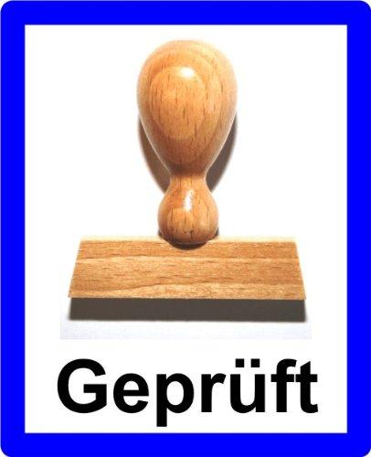 LE-ONs® Holzstempel Professional-Serie L38: Geprüft