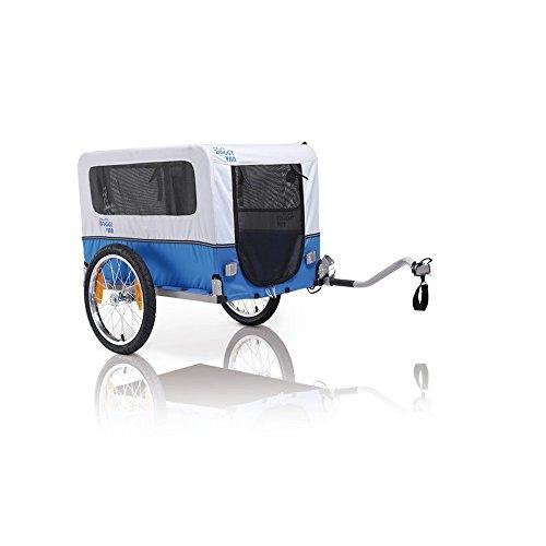 XLC Doggy Van Fahrradhundeanhänger, blau, One Size