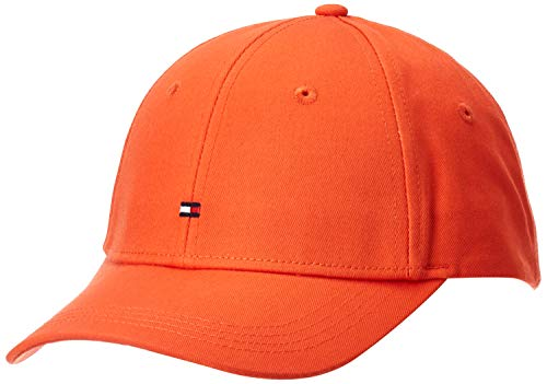 Tommy Hilfiger Damen Bb Baseball Cap, Orange (Bright Vermillion Sn6), One Size (Herstellergröße: OS)