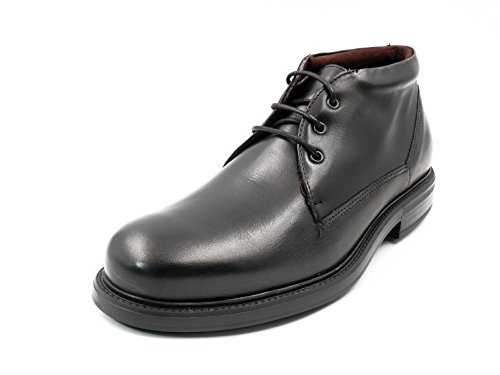 Bota Hombre con Cordones PITILLOS – Piel Disponible en Colores Negro y marrón - 4693-1n y 2n