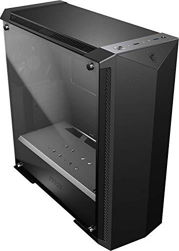 MSI MPG GUNGNIR 100P Mid-Tower Caja de PC Gaming (Negro, 1 x 120 mm Ventilador Incluido, Panel Cristal Templado, EATX, ATX, mATX, Mini-ITX)