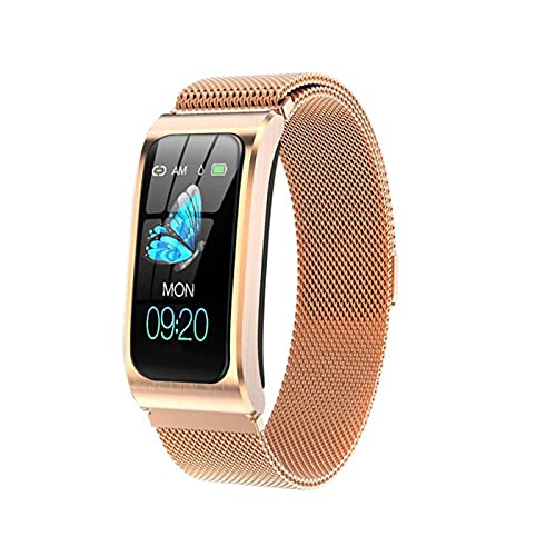 ZBY AK12 Pulsera Inteligente Reloj De Color Brazalete De Deportes De Salud para Mujer IP68 Pulsera Inteligente A Prueba De Agua TPU Correa Pulsera PK X3 Smart Watch,H