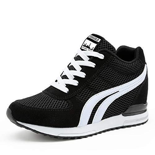 LILY999 Zapatillas Deportivas Cuna Mujer Casuales Sneakers Plataforma Mujer, Gran Compañero de Vida, Zapatos Comodos Verano para Mujer, La Mejor Opción para la Vida Cotidiana