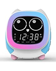 iTOMA Addo Ready-to-Rise Reloj Despertador para niños con Sleep Trainer, Nightime LED y Sleep Sound Machine (CKS912)