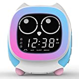 ITOMA Addo Ready-to-Rise Children's Alarm Clock with Sleep Trainer, Nightime LED and Sleep