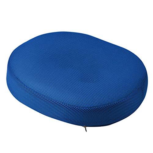 Morran Foam Sitzkissen für Auto und Bürostuhl Sitzkissen ergonomisches Stuhlkissen Sitzauflage Sitzerhöhung schmerzreduzierend Entlastung für Stuhl Auto Reisen Waschbar