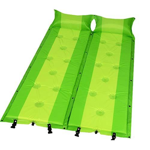 PRIDE S Luftmatratze Feuchtigkeitsbeständig Mat Doppel Air Cushion Bett Tragbarer Mittagspause verdickte Zelt Verbreiterte Isomatte (Color : I)