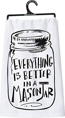 Top 10 Best Selling List for mason jar kitchen towels