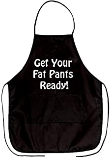 Yilooom Funny Apron Get Your Fat Pants Ready Novelty Aprons