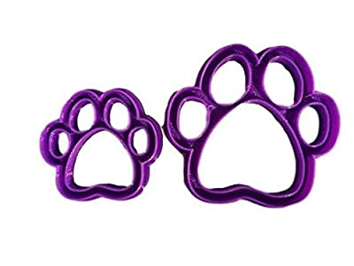 Dog Paw Cookie Cutter Style (All sizes)