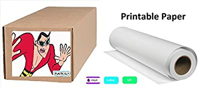 "HP Universal Gloss Photo Paper 7.4 mil, 200 g/m2, 2"" core, 1 roll/carton"