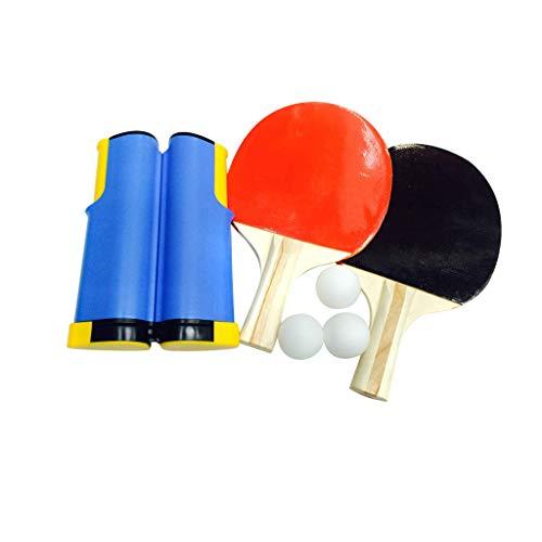 Juego de redes de tenis de mesa retráctiles