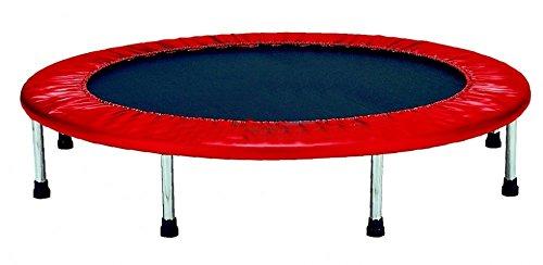 Bricok Trampolino Tappetino Elastico 100 cm Colore Rosso