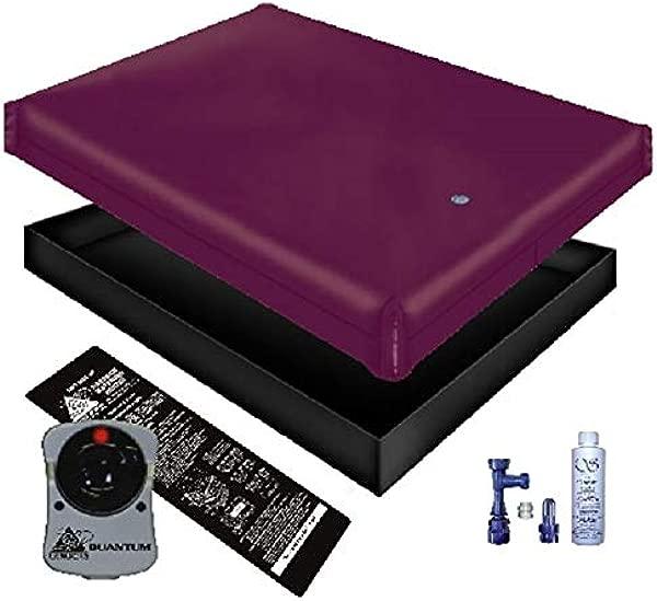 自由流动水床床垫衬垫加热器填充排水护发素套件女王 60x84 1FFG2