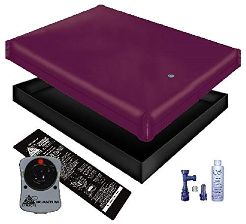 Free Flow WATERBED Mattress/Liner/Heater/Fill Drain/Conditioner KIT (Queen 60x84 1FFG2)