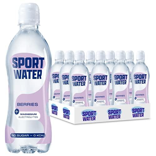 Sportwater Berries 0,5L (24 flesjes, incl. statiegeld)