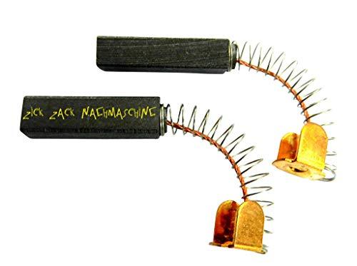 2x Escobillas de carbón motor de carbón, para Pfaff coser 230/260/262/330/332/360//800