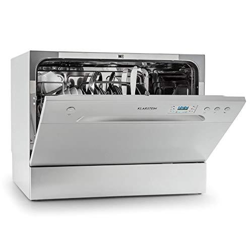 Klarstein Amazonia 6 Argentea Spülmaschine Tischgeschirrspülmaschine Silber