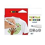 Mamadu Textilmarker, Textilstifte, Stofffarbe passend zum