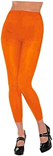 Amscan Footless Tights - Adult, Party Accessory, Orange