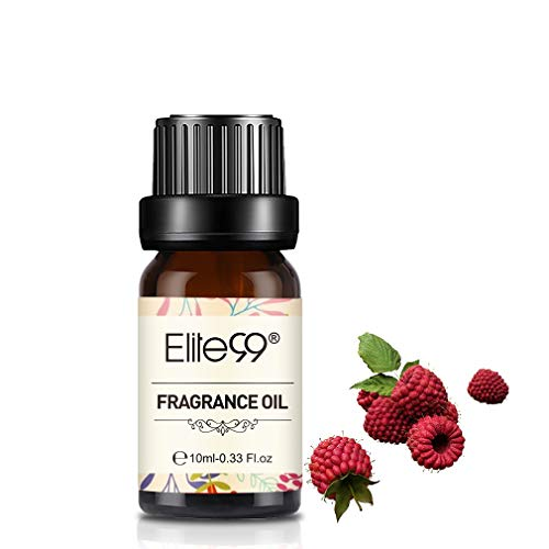 Elite99 Himbeere Duftöl, Ätherisches Öl für Diffuser, Naturreines Aroma Duftöle, Elite99 Raspberry Fragrance Oil 10ML