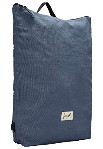 FORVERT Colin,Unisex,Damen,Herren,Daypack,Rucksack mit 15 Zoll Laptopfach,Innentasche mit Reißverschluss,Blue,one Size