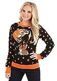 Adult Vintage Halloween Cat Halloween Sweater - S Black