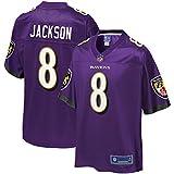 NFL PRO LINE Men's Lamar Jackson Purple Baltimore Ravens Team Player Jersey