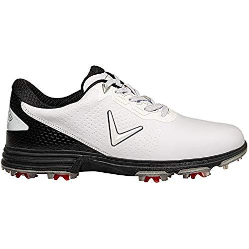 Callaway Apex Coronado S 2020 Zapatillas de golf impermeables Hombre, Blanco/Negro, 42...