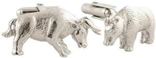 دستبند گاو نر و نقره استرلینگ مردانه David Donahue (CL128402)