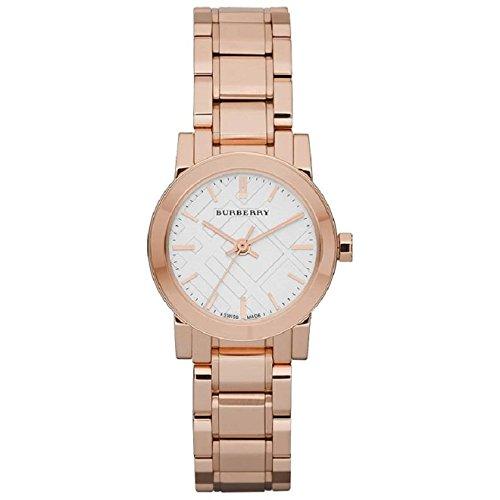 BURBERRY BU9204 Damen-Armbanduhr Edelstahlband Gold