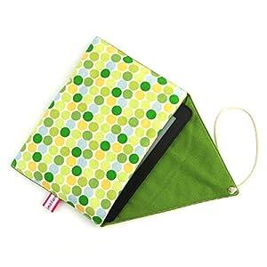 gefütterte Schutzhülle für eBook-Reader Handgenäht aus Baumwolle Design: 02DD0001