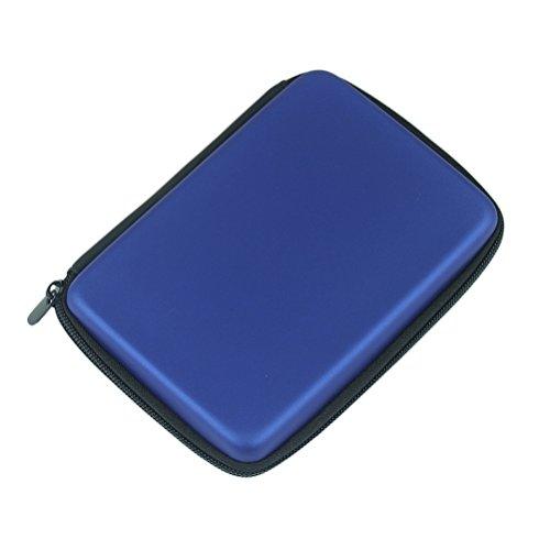 "Topdo Funda para Disco Duro Externo 2.5"" para Toshiba Canvio Basics/Seagate Backup Plus Slim/WD Western Digital My Passport Ultra Elements Disco Duro Externo portátil Cajas 1TB 2TB USB 3.0 Azul"