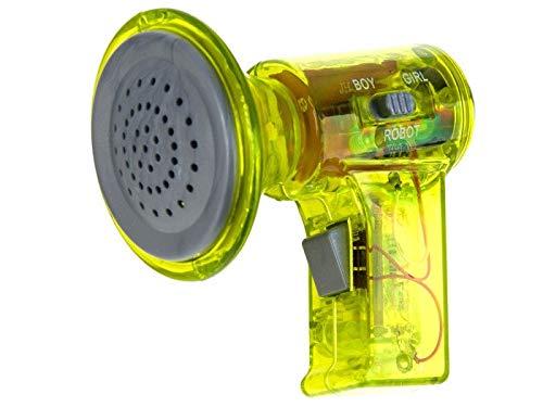 BSD Megaphon Megafon für Kinder Voice Changer Sprachwechsler Spielzeug - Gelb
